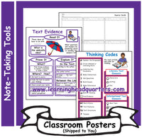 5: Note-Taking Tools - Poster Set