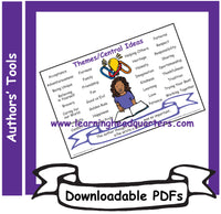 1: Themes/Central Ideas - Downloadable PDFs