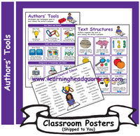 6: Authors' Tools - Poster Set