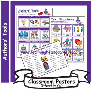 4: Authors' Tools - Poster Set