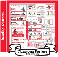 1: Reading Systems - Poster Set