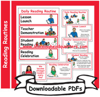 K: Daily Reading Routine - Downloadable PDFs