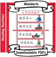 4: Daily Reading Routine - Downloadable PDF (MANDARIN)