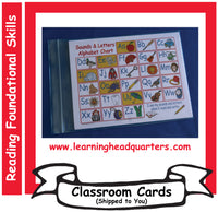 1: Sounds & Letters Alphabet - Student Mats (Set of 30)