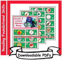 1: Sounds & Letters Alphabet Money - Downloadable PDFs