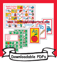 6: Sounds & Letters Alphabet Chart - Downloadable PDFs