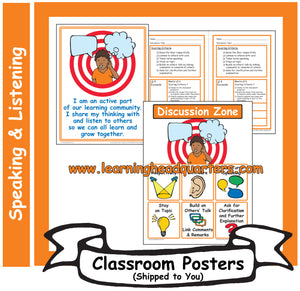 2: Speaking and Listening Systems & Tools - Poster Set