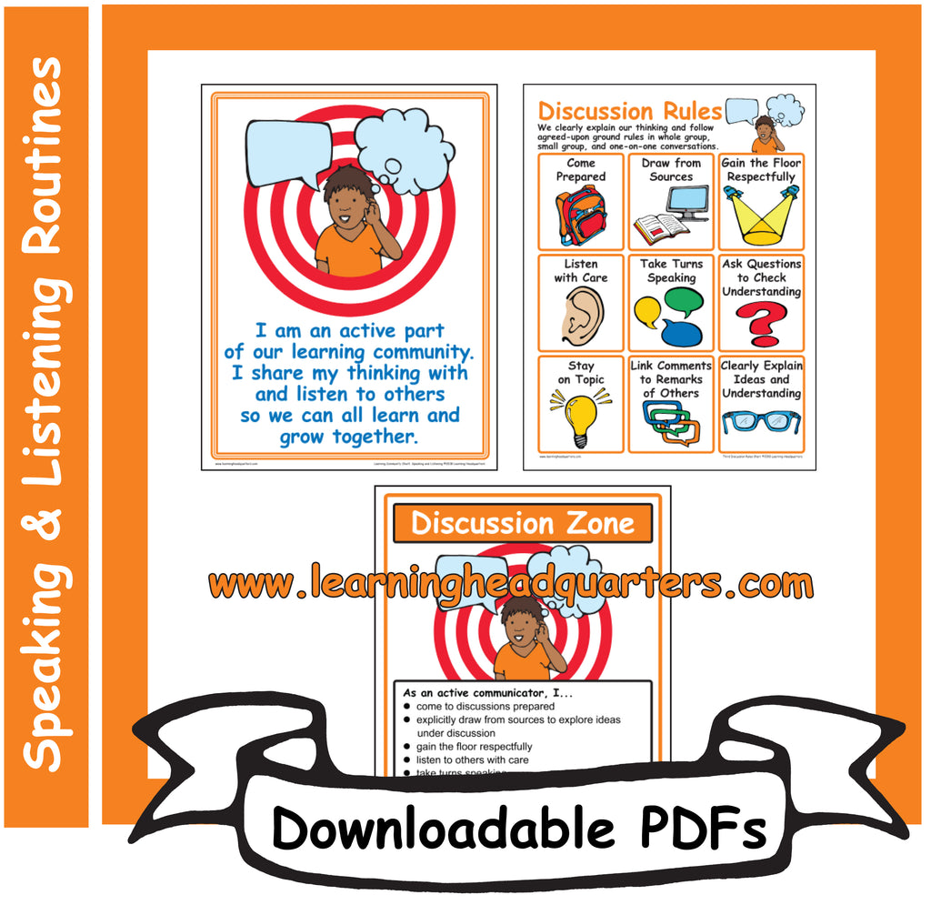 3: Discussion Zone - Downloadable PDFs