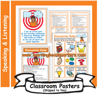 3: Speaking and Listening Systems & Tools - Poster Set