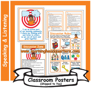 4: Speaking and Listening Systems & Tools - Poster Set
