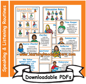 4: Discussion Roles - Downloadable PDFs