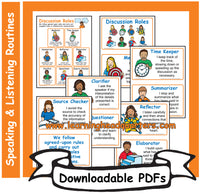 5: Discussion Roles - Downloadable PDFs