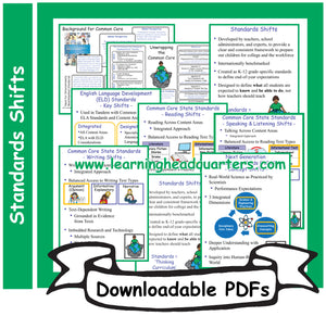 6: Standards Shifts - Downloadable PDFs