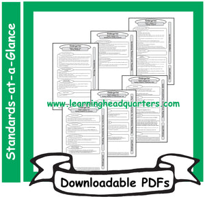 4: Common Core State Standards-at-a-Glance (ELA) - Downloadable PDFs