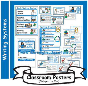 6: Writing Systems - Poster Set