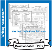 1: Writing Scoring Guides - Downloadable PDFs