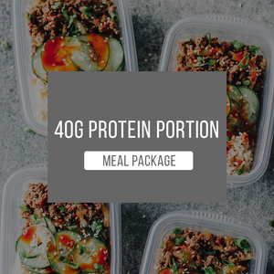 40g Protein Package - 1 WEEK - Practical Menu