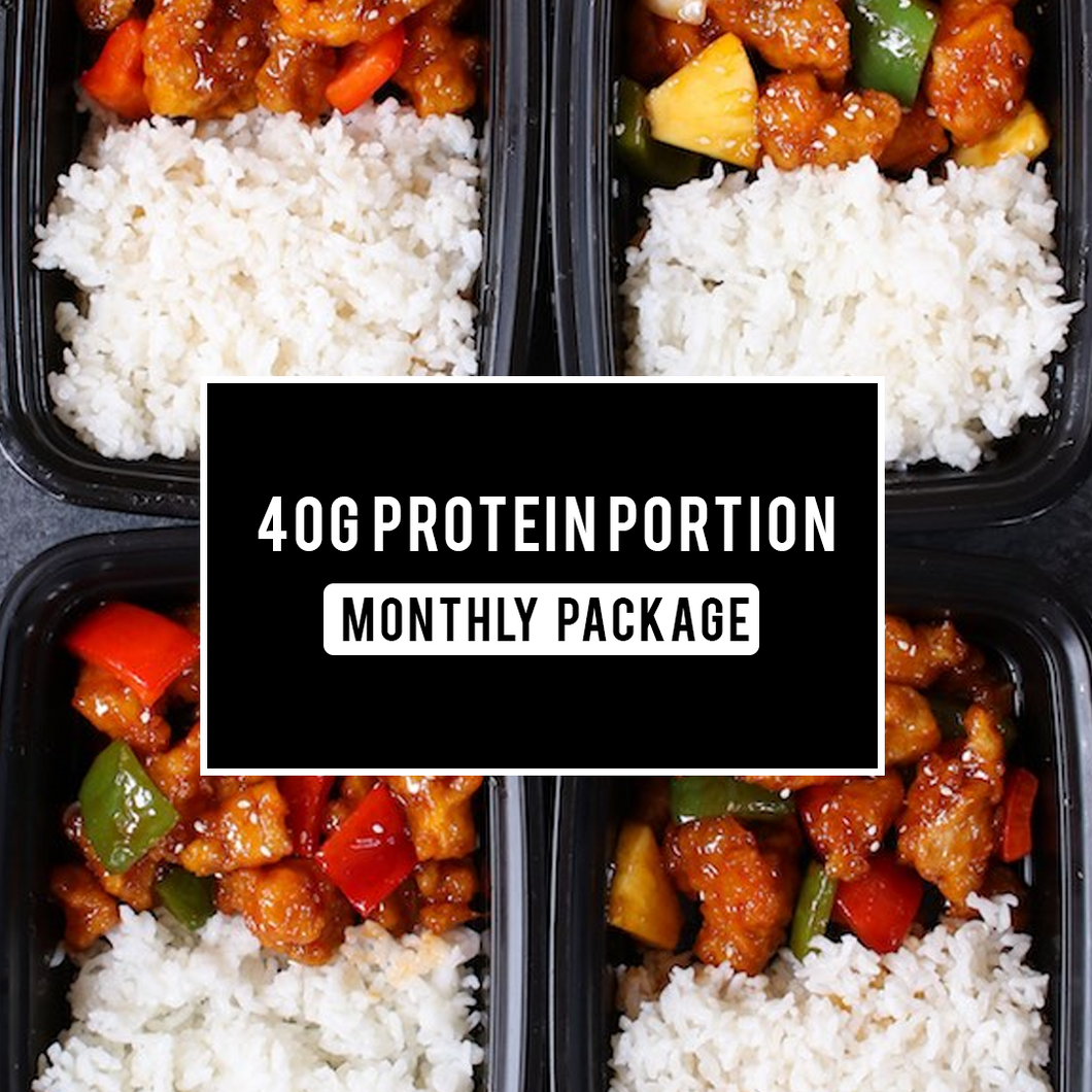 40g Protein Package - 1 MONTH - Practical & Premium Mixed