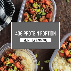 40g Protein Package - 1 MONTH - Practical Menu