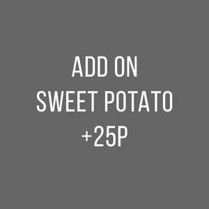 Sweet Potato + 25p
