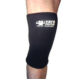 YAYB Pro Strong 7mm Knee Sleeves (pair) Single seam reinforced stitch