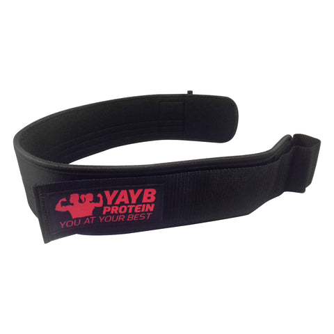 YAYB Weight Lifting Belt With Double Lock Mechanism