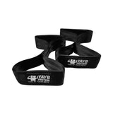 YAYB High Impact Figure 8 Deadlift Straps (Made With Seat Belt Material)