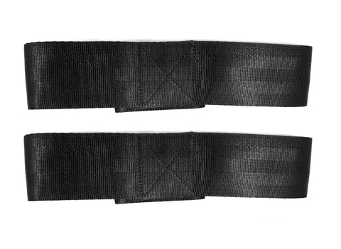 made With Seat Belt Material YAYB High Impact Figure 8 Deadlift Straps