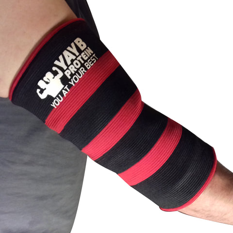 YAYB Triple Ply Elbow Sleeves - War Series (pair)