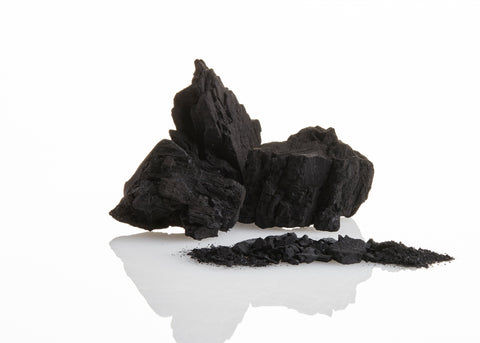 charcoal in its natural form