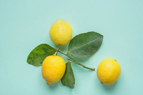 A bright, refreshing scent, Lemon helps boost morale, improve focus + create a sense of happiness