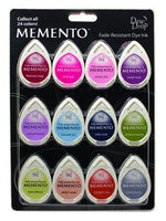 Memento Dew Drop Dye Ink Pads 12/Pkg - Sorbet Scoops