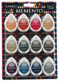 Memento Dew Drop Dye Ink Pads 12/Pkg - Snow Cones