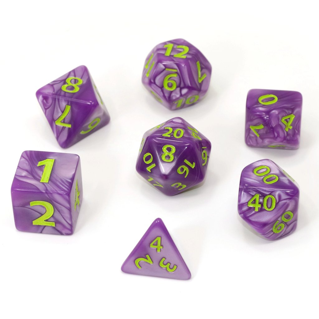 Mega Dice - Purple Trickster