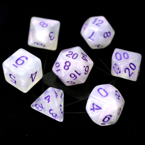 RPG Set - Purple Moonstone