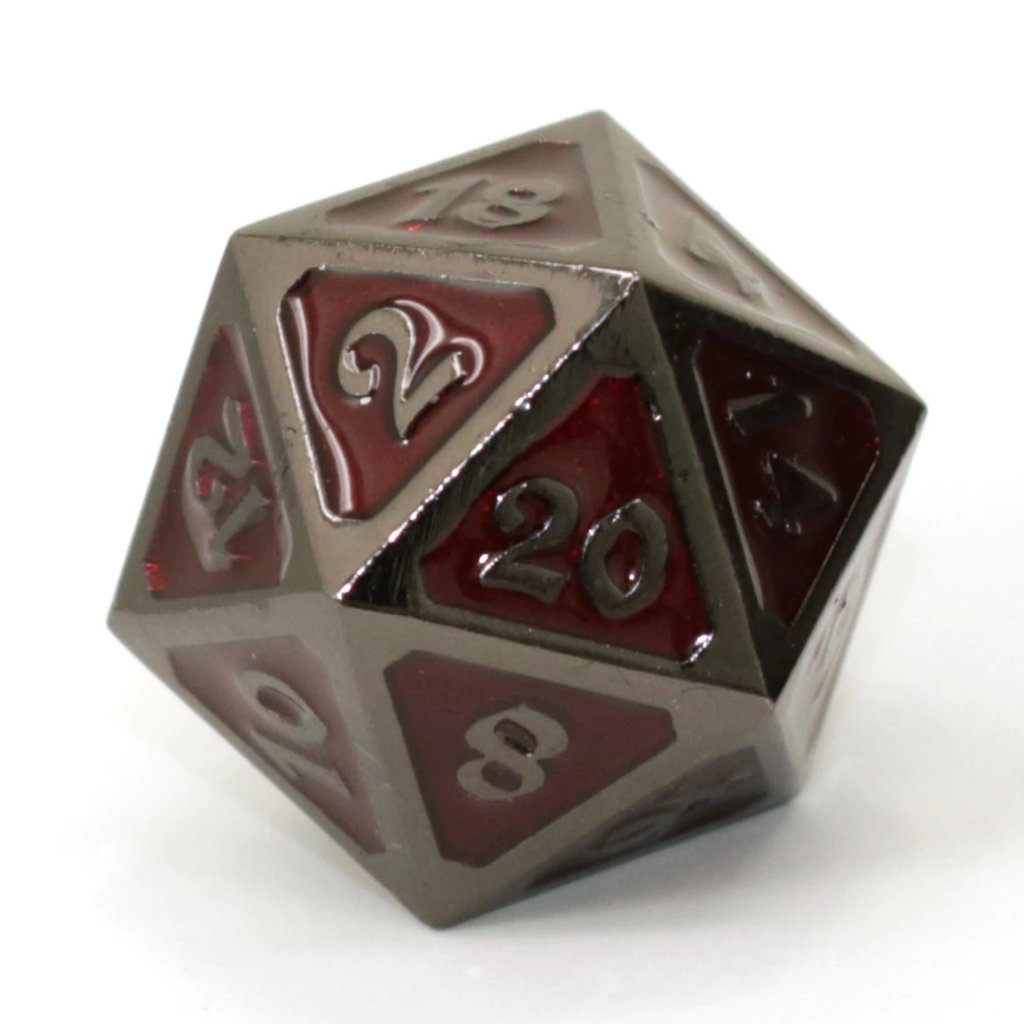 Single d20 - Mythica Sinister Ruby