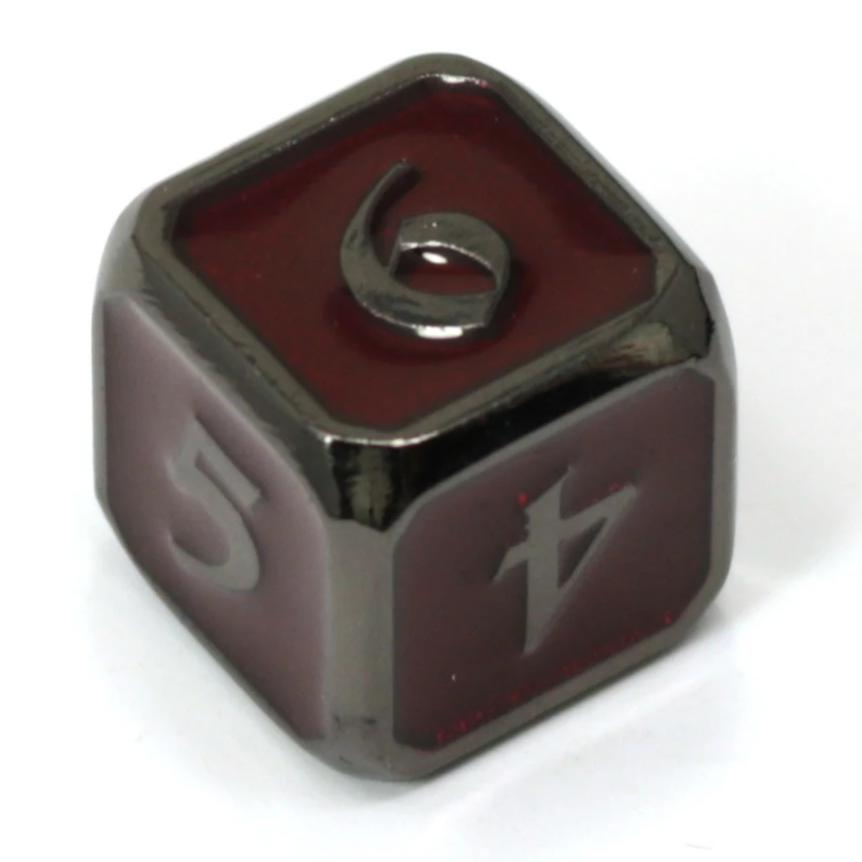 Single d6 - Mythica Sinister Ruby