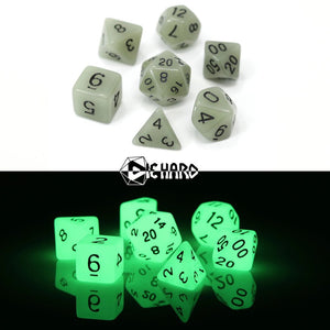 RPG Set - Glow-in-the-Dark White