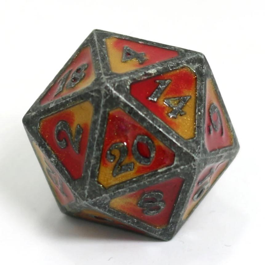 Single d20 - Spellbinder Brimstone
