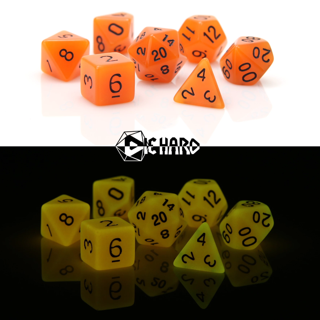 RPG Set - Glow-in-the-Dark Orange