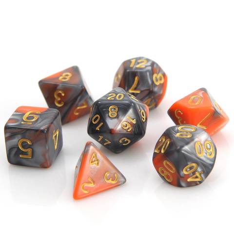 RPG Set - Silver/Orange Alloy