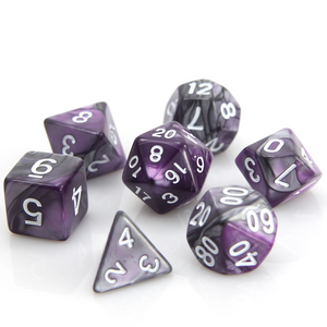 RPG Set - Silver/Purple Alloy