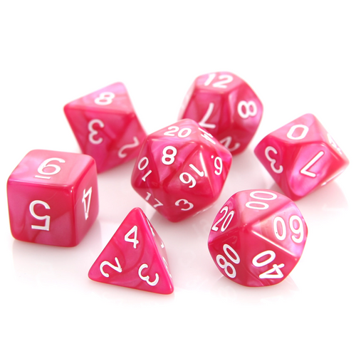 RPG Set - Rose Swirl w/ White