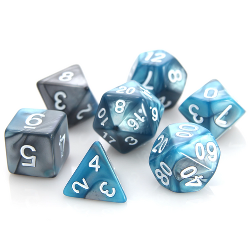 RPG Set - Silver/Turquoise Alloy