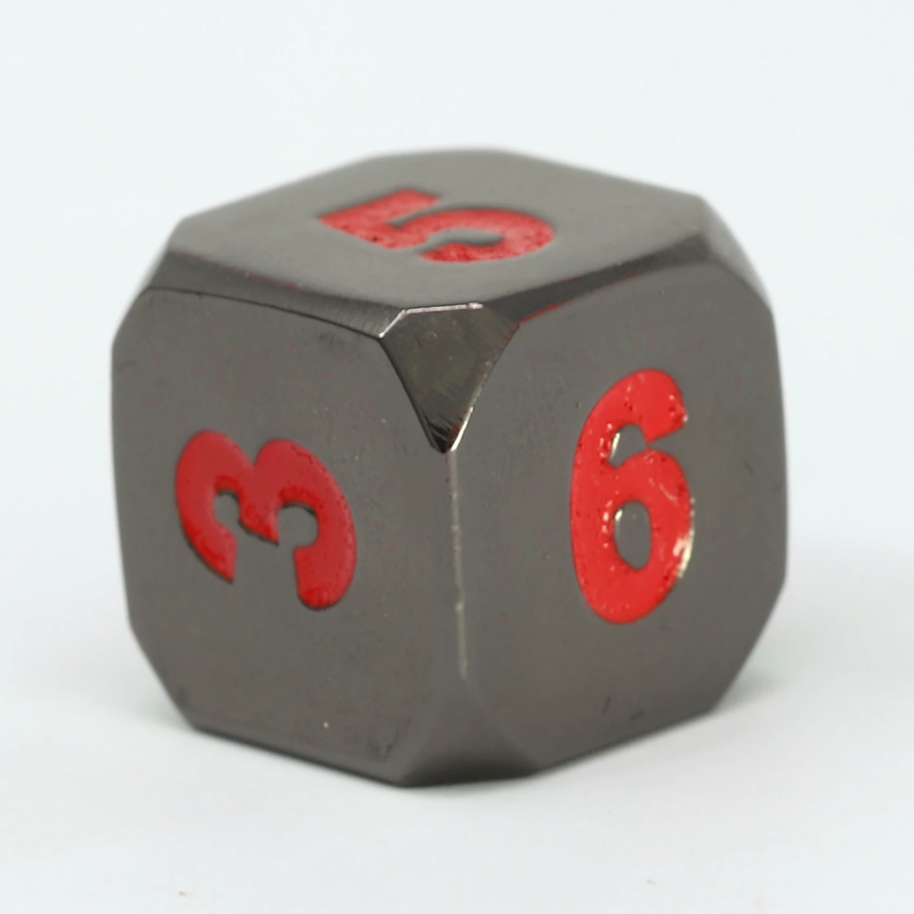 Single d6 - Forge Sinister Red