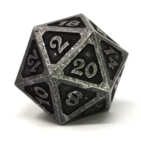 Single d20 - Mythica Dark Iron