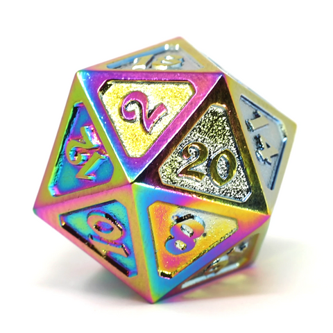 Single d20 - Mythica Scorched Rainbow