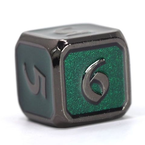 Single d6 - Mythica Sinister Emerald