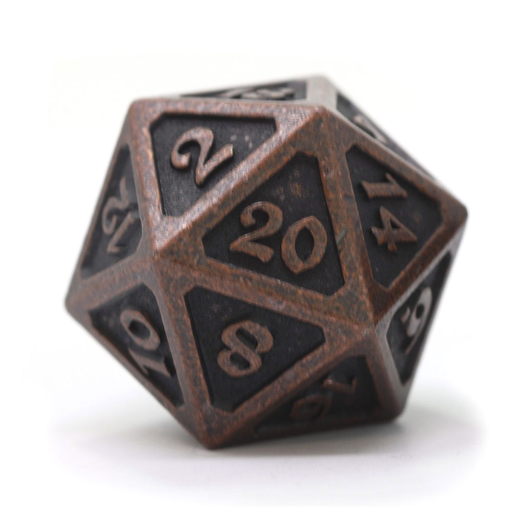 Dire d20 - Mythica Dark Copper