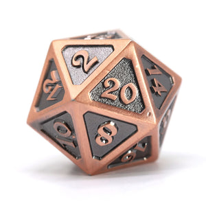 Dire d20 - Mythica Battleworn Copper
